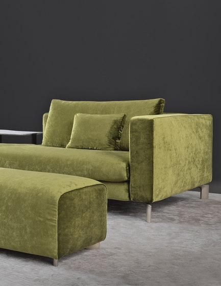 Tay zusammenstellbares sofa loungesofas von flou for Divano verde salvia