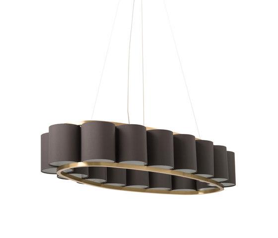 Bibendum Oval Chandelier by Martin Huxford Studio | General lighting