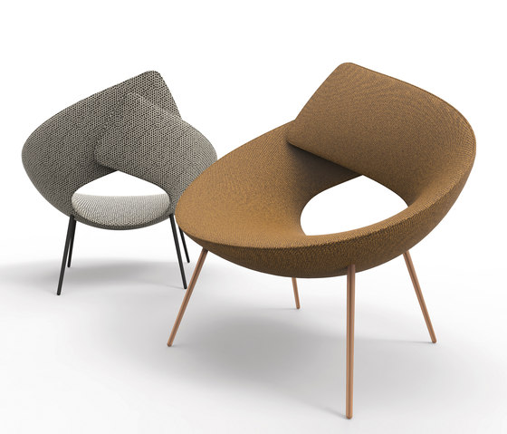 Lock by Bonaldo | Lounge chairs