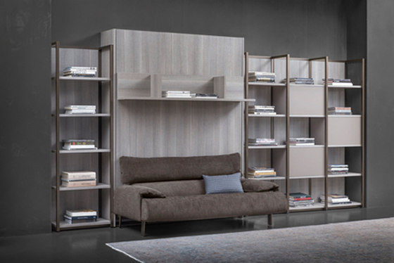 London Bridge Wall unit by Flou | Cabinets