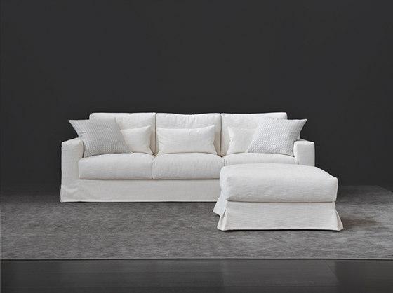 Borgonuovo Sofa, Pouf by Flou | Lounge sofas