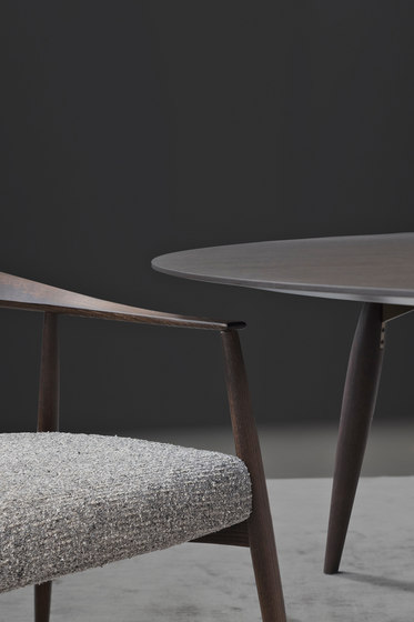 Tekton table by Flou | Restaurant tables