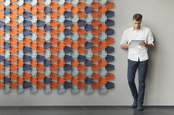 Haptic by Luxxbox | Sound absorbing room divider