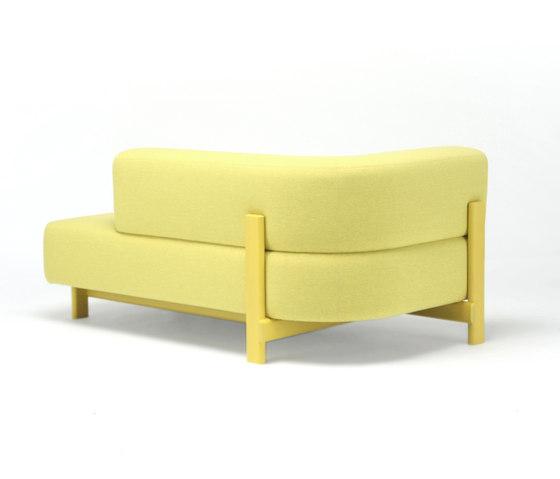 Elephant Sofa Chaise Longue L di Karimoku New Standard | Dormeuse
