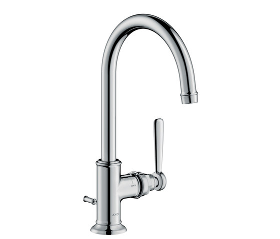 AXOR Montreux Single lever basin mixer 210 with pop-up waste set by AXOR | Wash basin taps
