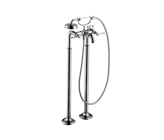 AXOR Montreux 2-handle bath mixer floor-standing with lever handles by AXOR | Bath taps