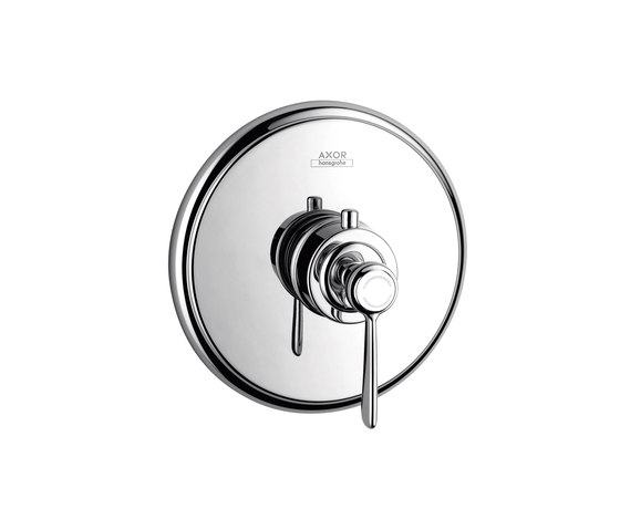 AXOR Montreux Thermostatic mixer 43l/min for concealed installation with lever handle by AXOR | Shower controls
