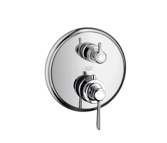 AXOR Montreux Thermostatic mixer for concealed installation with shut-off valve with lever handle by AXOR | Shower controls