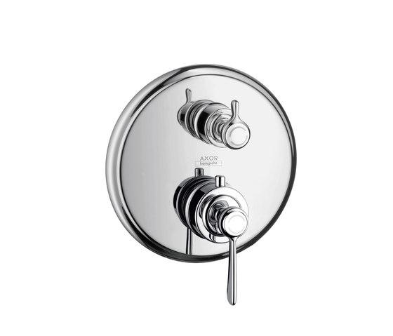AXOR Montreux Set esterno termostatico ad incasso con arresto maniglia a croce di AXOR | Rubinetteria doccia