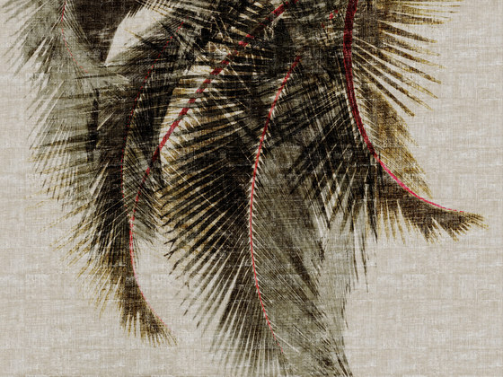 Raffia & Madagascar | Cuba Libre VP 603 01 by Elitis | Wall coverings / wallpapers