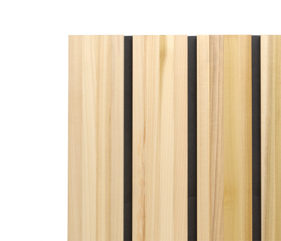 Ideawood | Slats Lamas by IDEATEC | Wood panels