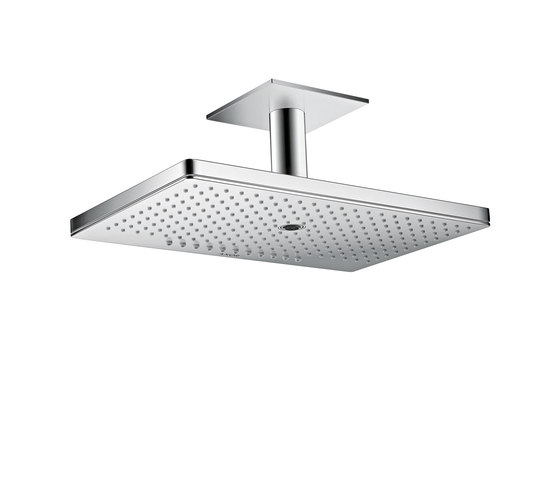AXOR Shower Collection Overhead shower 460 / 300 3jet with ceiling connector by AXOR | Shower controls