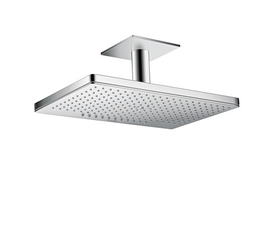 AXOR Shower Collection Overhead shower 460 / 300 2jet with ceiling connector by AXOR   Shower controls