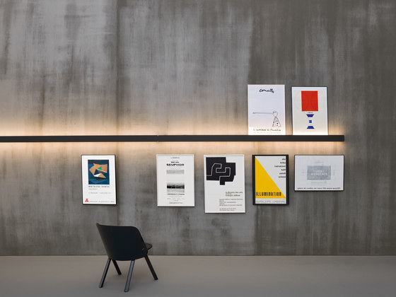 Groove | barra de CACCARO | Illuminated shelves