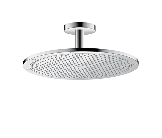 AXOR Shower Collection Overhead shower 350 1jet with ceiling connector by AXOR   Shower controls