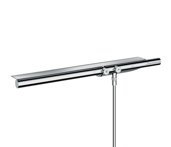 AXOR Shower Collection Thermostatic mixer 800 for exposed / concealed installation by AXOR | Shower controls