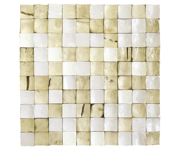 Coco Shells | Palawan RM 940 02 de Elitis | Mosaïques en coco