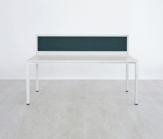 Série Z table de travail de ophelis | Écrans privatifs