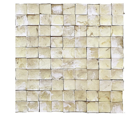 Coco Shells | Palawan RM 940 01 by Elitis | Coconut mosaics