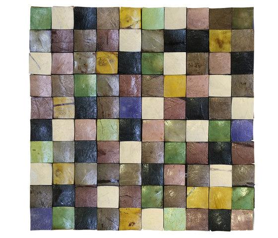 Coco Shells | Palawan RM 940 05 von Elitis | Kokos Mosaike