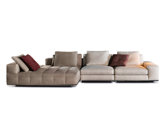 Lawrence Seating System by Minotti | Modular sofa systems