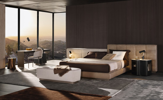 Lawrence Bed de Minotti | Camas dobles