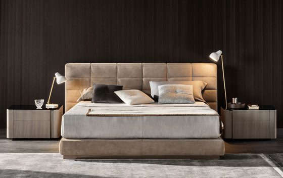 Lawrence Bed by Minotti | Double beds