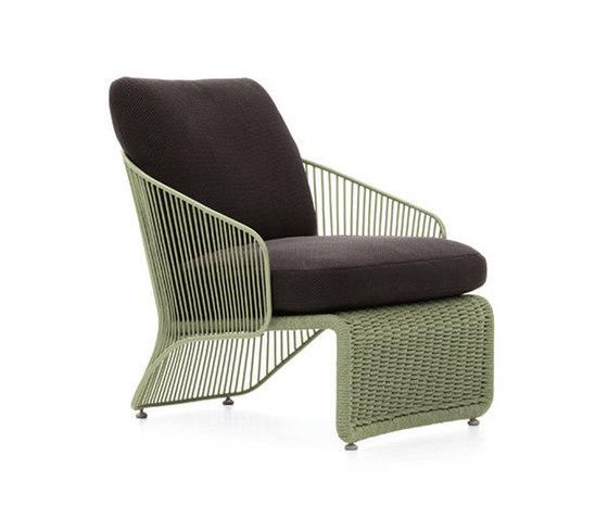 Colette Outdoor Armchair von Minotti | Gartensessel
