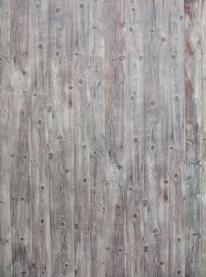 Indewo® Wood | Antique Spruce Hütte silver gray by europlac | Wood panels