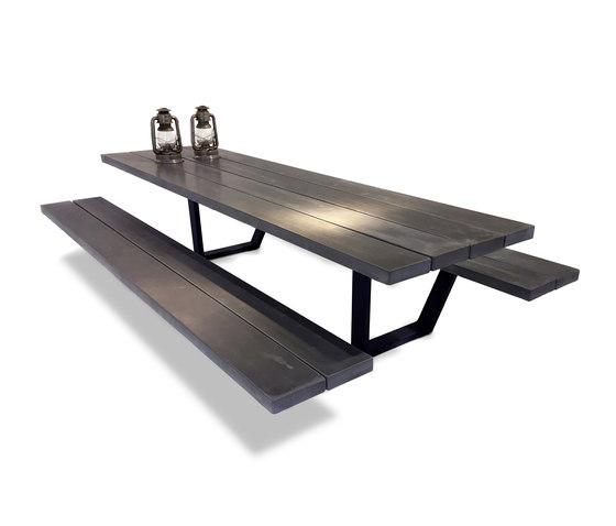 Cassecroute Table Concrete de CASSECROUTE | Bancs de restaurant