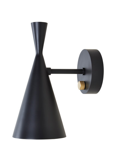 Beat Wall Light Black by Tom Dixon | General lighting
