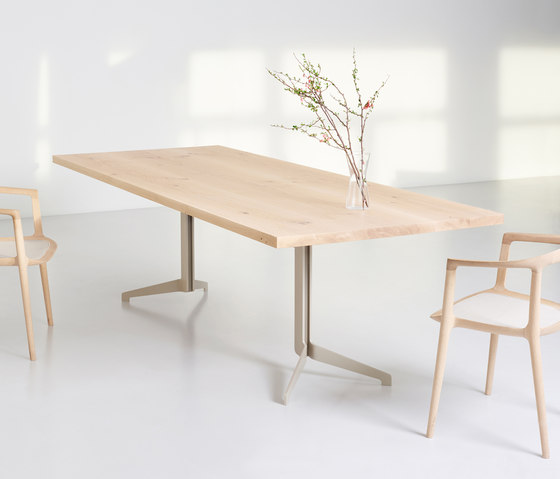 LYNX Rectangular table by Zoom by Mobimex | Dining tables