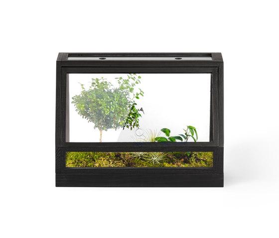 Greenhouse Mini | Dark grey von Design House Stockholm | Pflanzgefäße