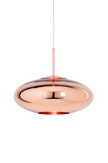 Copper Pendant Wide by Tom Dixon   Suspended lights