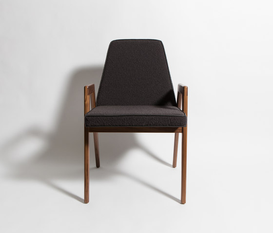 Upholstered Dining Chair by Smilow Design | Restaurant chairs