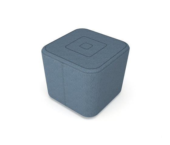 Puzzle 1 seat by Luxy | Poufs