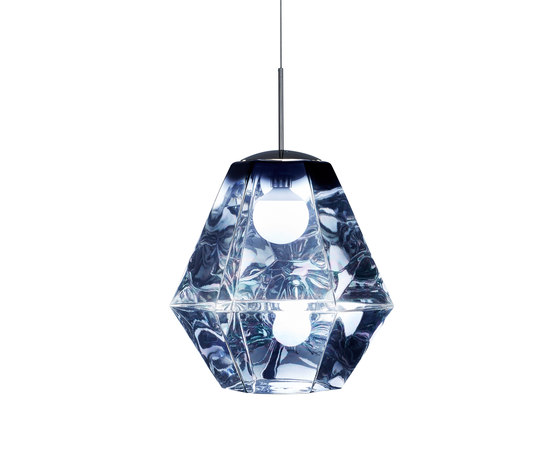 Cut Tall Pendant Smoke by Tom Dixon | General lighting