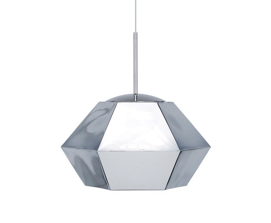 Cut Short Pendant Chrome by Tom Dixon | General lighting