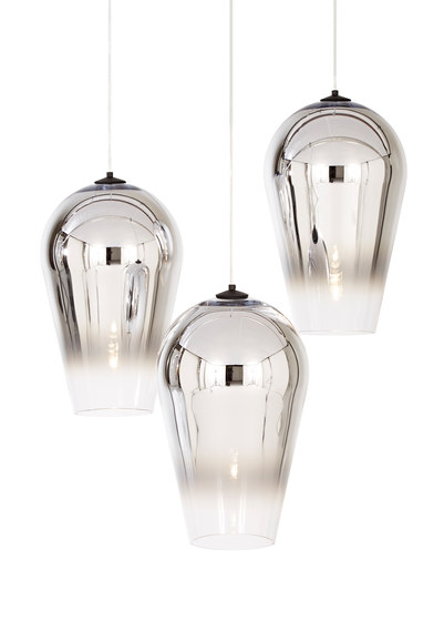 Fade Pendant Chrome 50cm by Tom Dixon | Suspended lights