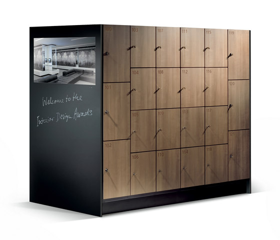 Cambio Garderobenschrank S 6000 von C+P Möbelsysteme | Sitzbänke