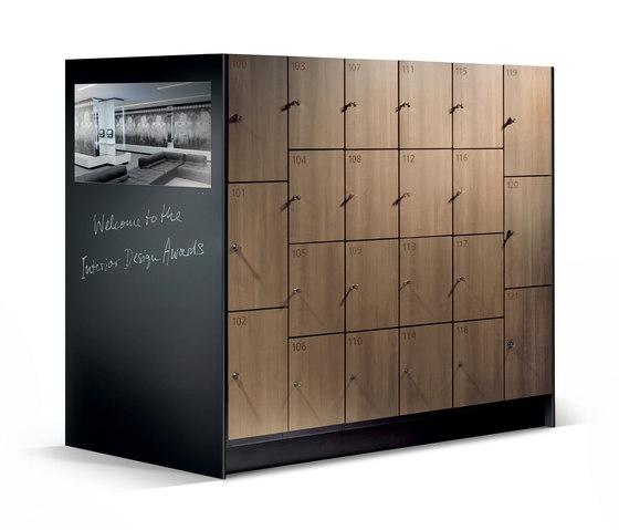 Cambio Garderobenschrank S 6000 de C+P Möbelsysteme | Bancs