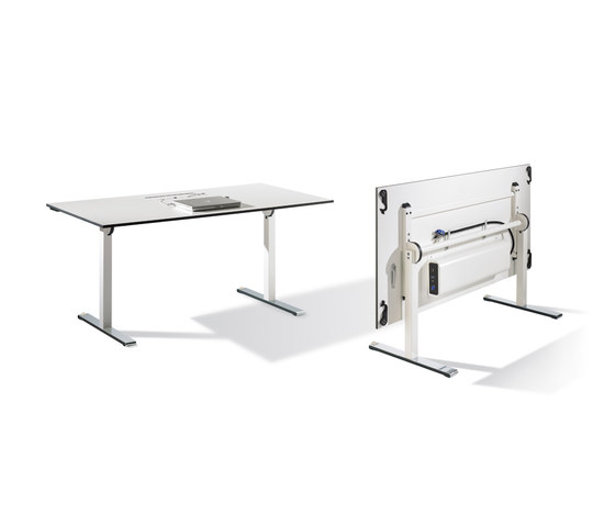Cegano Meeting Duo by C+P Möbelsysteme | AV tables