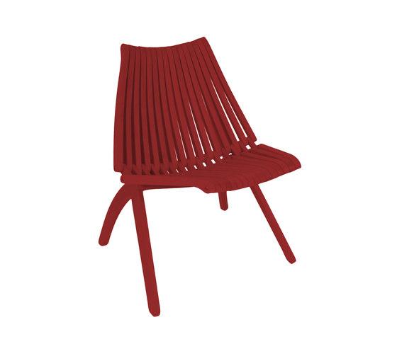 Lotos Chair | red di POLITURA | Sedie