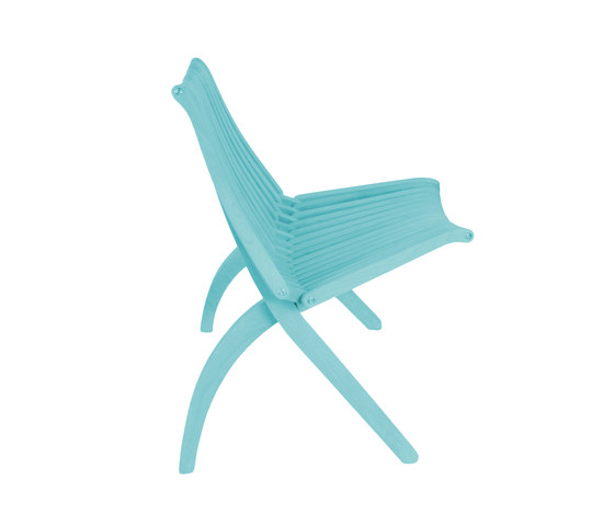 Lotos Chair | turquise by POLITURA | Garden chairs