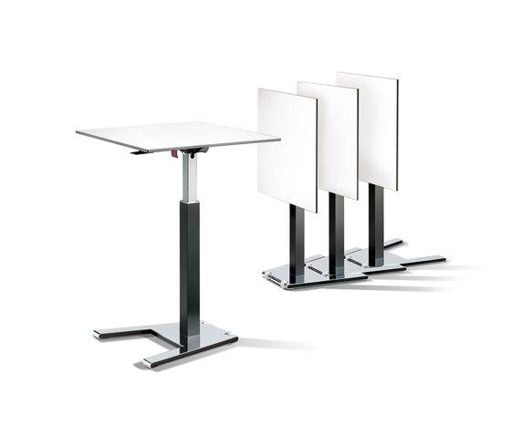 Cegano Meeting Mobiler Staffel-Lifttisch de C+P Möbelsysteme | Tables collectivités