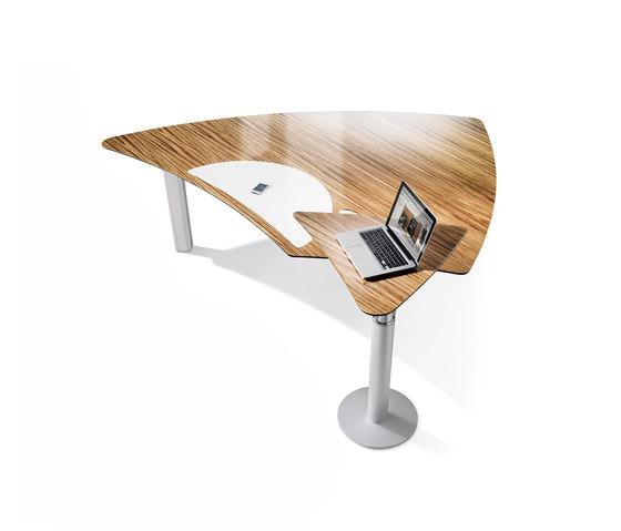 Premio Management-Schreibtisch T 8000 de C+P Möbelsysteme | Bureaux
