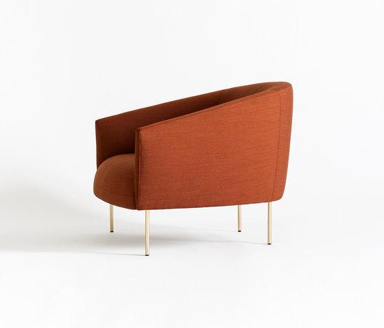 Roma by Tacchini Italia | Lounge chairs