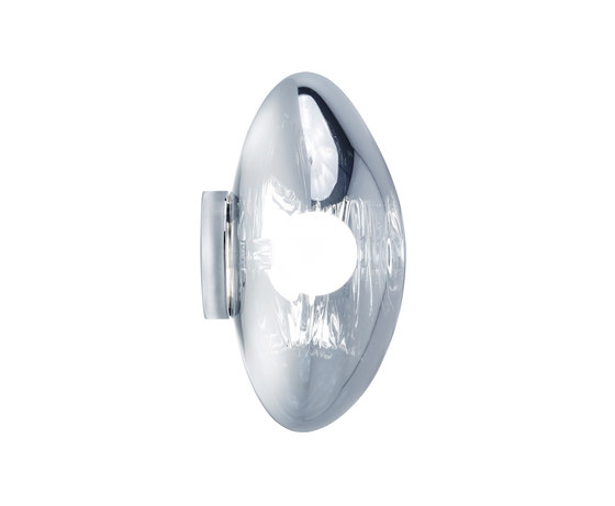 Melt Surface Light Chrome by Tom Dixon | General lighting