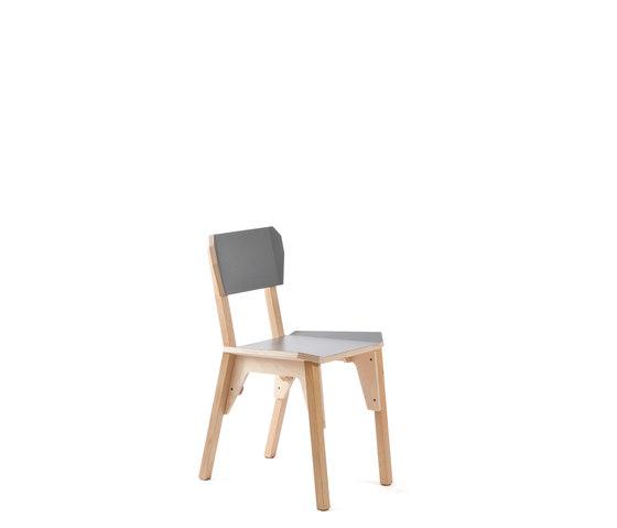 's Chair | slate grey de Vij5 | Sillas multiusos