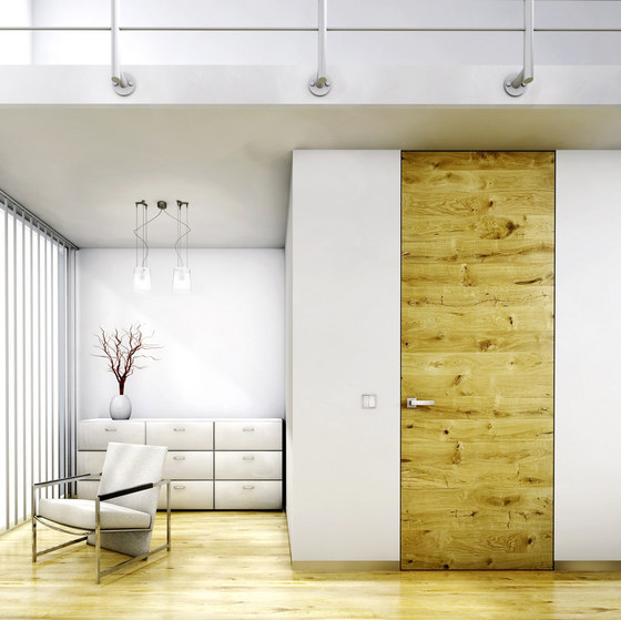 Swing Doors - Flush To The Wall von Bartels Doors & Hardware | Innentüren
